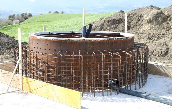 Installazione generatore eolico