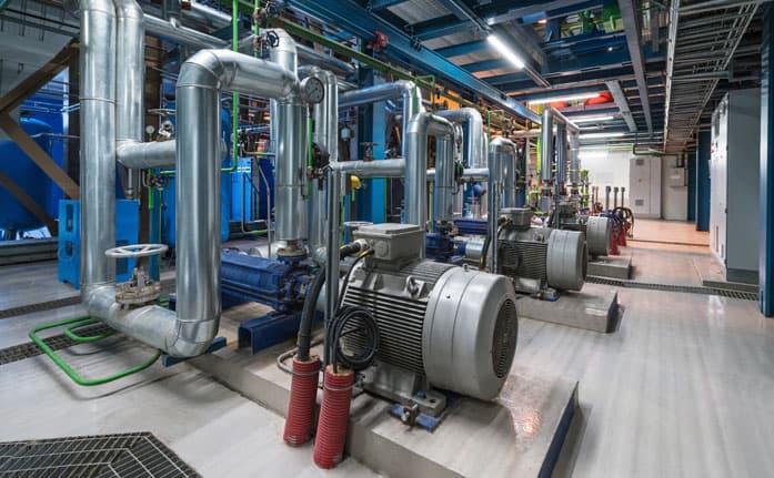 Impianto cogenerazione - Produzione combinata di energia elettrica e calore tramite un unico impianto e una sola fonte di energia primaria.